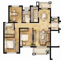 3室2厅2卫  126平米