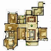 4室1厅1卫  134平米